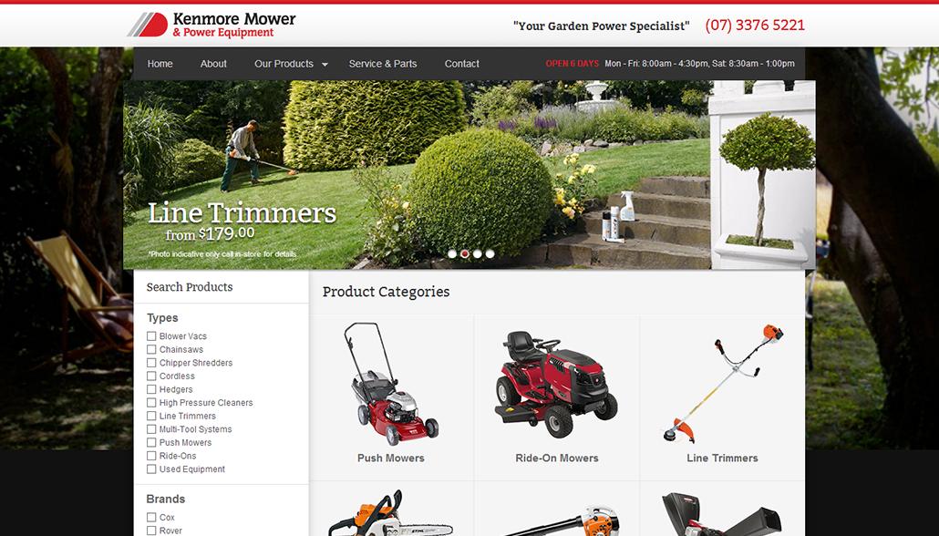 Kenmore Mower & Power Equipment